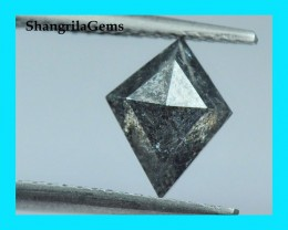 9mm 1.30ct Salt Pepper Kite diamond from Botswana