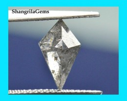 11mm 0.93ct Salt Pepper kite diamond from Botswana