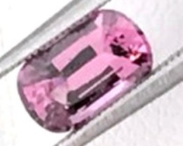 Purple Pink 1.20 ct Rectangular Spinel - Sri Lanka