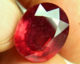 19.88 Carat Fiery Pigeon Blood Ruby - Superb