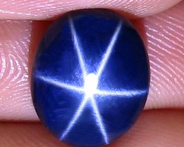 5.22 Carat Southeast Asian Blue Star Sapphire - Gorgeous