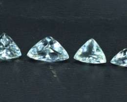 17.05 cts Untreated Aquamarine Gemstones Lot