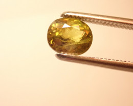 Sphene 4.94CT - Rainbow Sparks .YELLOW