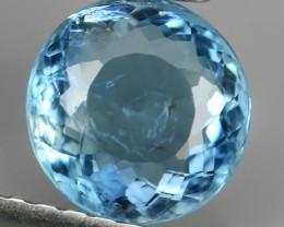 1.05 Cts Sparkling Luster - Oval Gem - Natural Top Blue Aquamarine