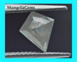 8.1mm grey kite diamond 0.90ct