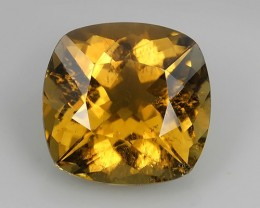 3.55 CTS SPARKLING NATURAL  YELLOW TOURMALINE MOZAMBIQUE
