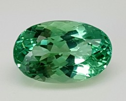 9.30Crt Green Spodumene  Best Grade Gemstones JI70