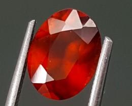 2.50Crt Hessonite Garnet  Best Grade Gemstones JI70