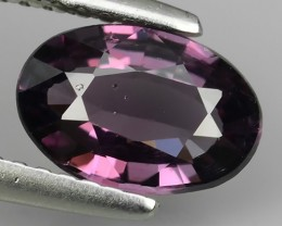 1.30 CTS MIND BOGGLING NATURAL RICH FIRE PURPUL PINK SPINEL NR!!!