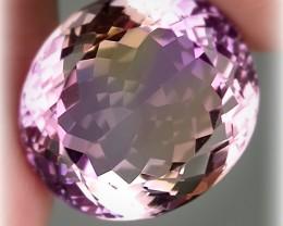15.40ct  Pink Mauve Ametrine Amethyst - VVS no reserve