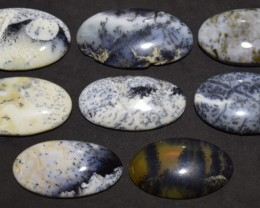257.20 Ct NATURAL BEAUTIFUL DENDRITIC AGATE WHOLESALE LOT UNTREATED