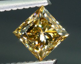 Certified 1.06 ct Whiskey Diamond Untreated Letseng Mine South Africa SKU 2