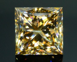 Certified 1.16 ct Whiskey Diamond Untreated Letseng Mine South Africa SKU 2