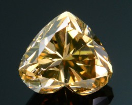 Certified 1.02 ct Whiskey Diamond Untreated Letseng Mine South Africa SKU 2