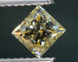 Certified 1.07 ct Champagne Diamond Untreated Letseng Mine South Africa SKU