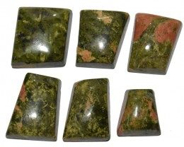 147.75 CT UNAKITE GEMSTONE WHOLESALE LOT (NATURAL+UNTREATED)