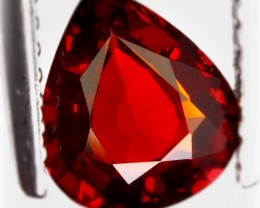 1.37ct Orange Red Spessartite Garnet No Reserve