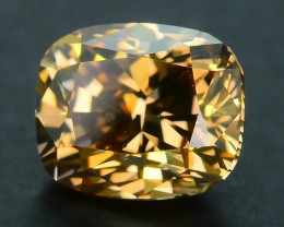 Certified 1.01 ct Whiskey Diamond Untreated Letseng Mine South Africa SKU 2