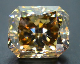Certified 1.9 ct Whiskey Diamond Untreated Letseng Mine South Africa SKU 2