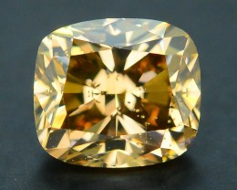 Certified 1.09 ct Whiskey Diamond Untreated Letseng Mine South Africa SKU 2