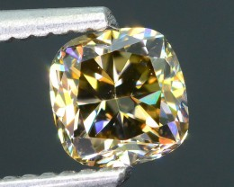 Certified 1.02 ct AAA Brilliance Whiskey Diamond Untreated South Africa SKU