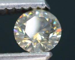 Certified 0.40 ct Untreated White Diamond  SKU 3