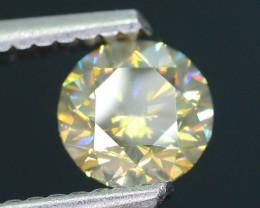 Certified 0.81 ct Untreated Diamond  SKU 3