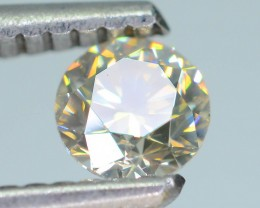 Certified 0.40 ct Untreated White Diamond  SKU 3
