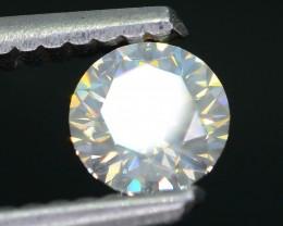 Certified 0.42 ct Untreated White Diamond  SKU 3