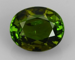 6.05 CTS-ALLURING TOP GREEN PARTY COLOR EXCELLENY TOURMALINE OVAL
