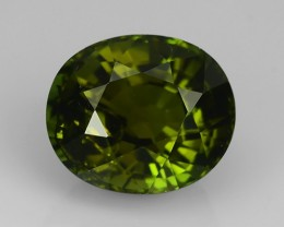 5.15 CTS WONDERFULL CHARMING NATURAL GREEN OVAL TOURMAL