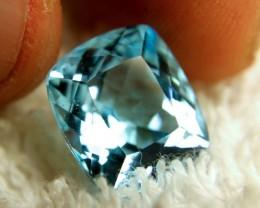 BEAUTIFUL SWISS BLUE TOPAZ ~ 13.15cts ~ VVS ~ BRAZILIAN BEAUTY
