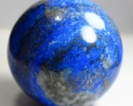 1352 CT Natural lapis  lazuli Carvid Ball Stone Special Shape
