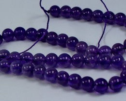 170 ct Unheated ~ Natural Purple color Amethyst Beads