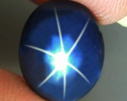 4.27 Carat Southeast Asian Blue Star Sapphire - Gorgeous