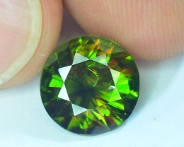 AAA Color 3.85 ct Chrome Sphene from Himalayan Range Skardu Pakistan