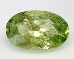 3.80Crt Rutile Peridot of Pakistan Best Grade Gemstones JI71