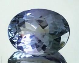 Luminous 1.8ct Oval Blue Tanzanite - G15