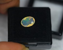 1.22ct Natural Ethiopian Welo Faceted Opal Lot GW1745