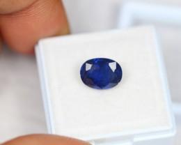 3.62ct Natural Ceylon Blue Sapphire Oval Cut Lot GW1755