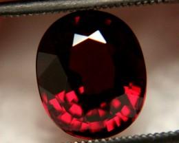 $3,700+VALUED & CERTIFIED  Rhodolite Garnet ~ 13. cts ~Stun