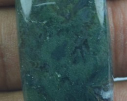 32.65 CT BEAUTIFUL MOSS AGATE (NATURAL+UNTREATED) X25-117