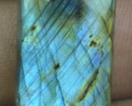 24.25 CT Labradorite Natural Untreated Cabochon x1-161