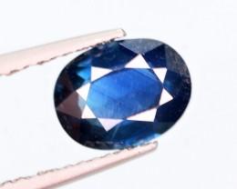 1.88 Cts Magnificent Top Color Sparkling Intense Blue Sapphire
