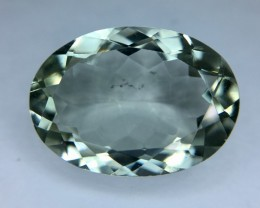 10.35 Crt Prasiolite Green Amethyst Faceted Gemstone (R 201)