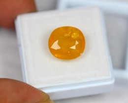 8.79ct Natural Yellow Sapphire Oval Cut Lot V1729