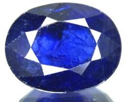 4.90 Cts Natural Blue Sapphire Oval Cut Thailand Gem