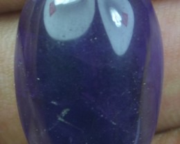 28.05 CT NATURAL UNTREATED AMETHYST CABOCHON X21-66