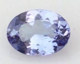 Pretty Lavender Blue Oval Blue Tanzanite - H775