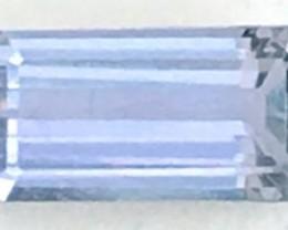 1.60ct Emerald Cut Lavender Blue Tanzanite - G26